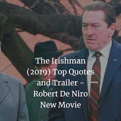 The Irishman (2019) Top Quotes