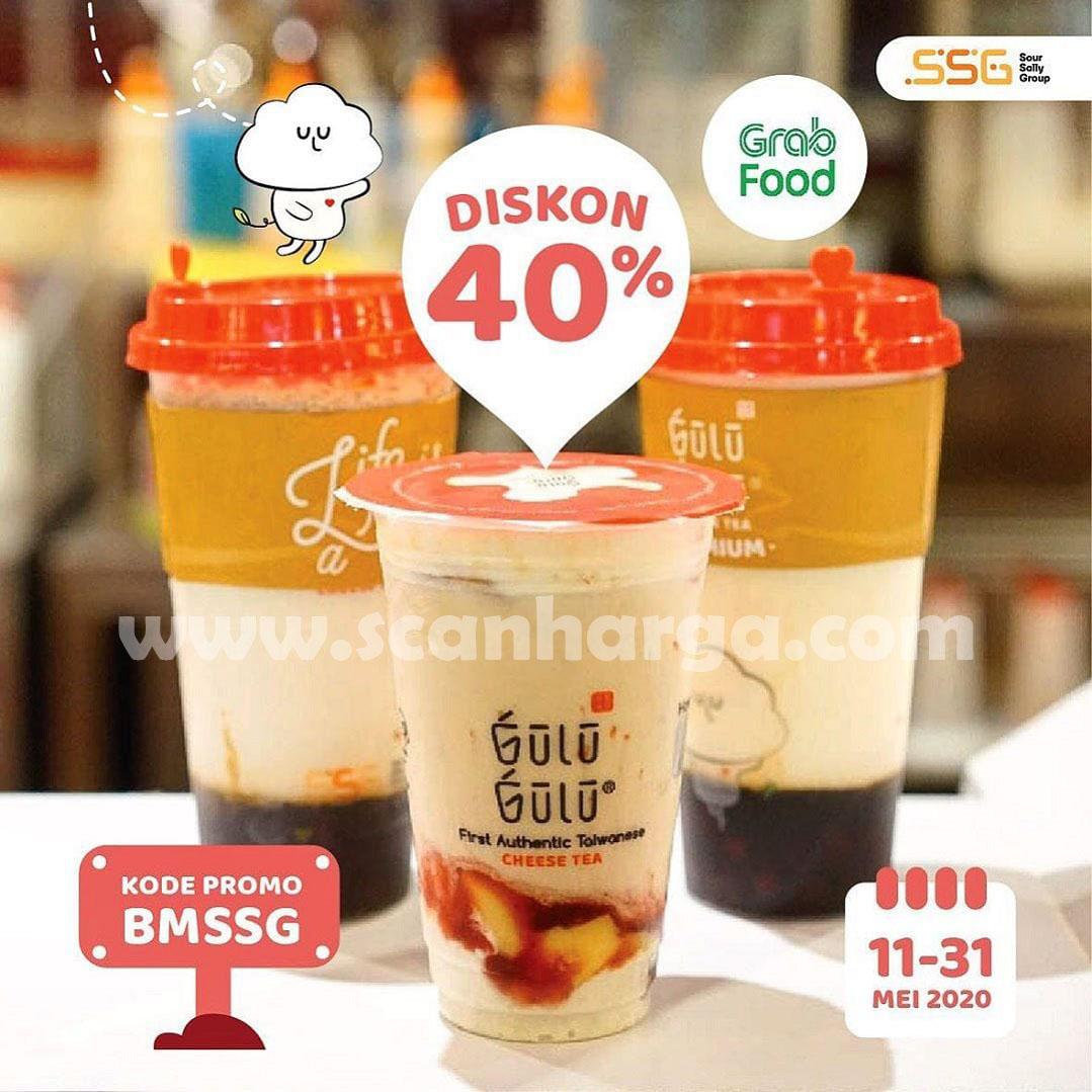 Promo Gulu Gulu Spesial Diskon 40% Pemesanan Lewat Grabfood!