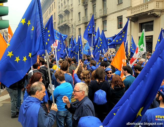 noi patrioti europei #tuttoblue