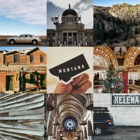 Montana Road Trip Travel Photography