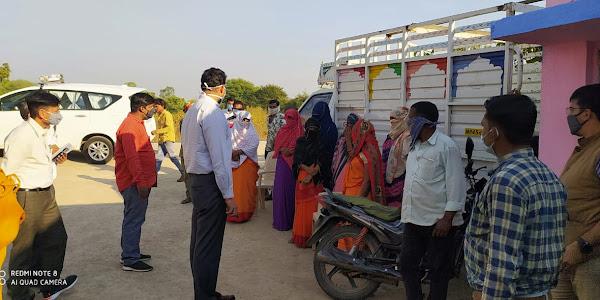 कलेक्टर रोहित सिंह ने पंचायत भवन एवं प्राथमिक विद्यालयो का निरिक्षण किया