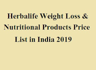 Herbalife Weight Loss & Nutritional Products Price List