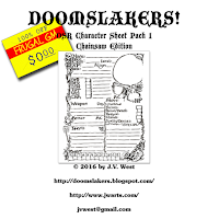 Free GM Resource: Awesome Hand-drawn OSR PC Sheets