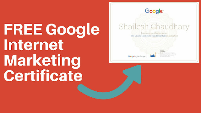 Internet Marketing Certificate