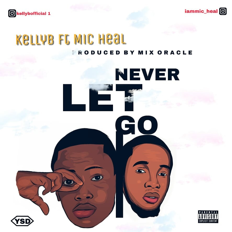 [Music] Kelly B ft Mic heal - Never let Go (prod. Mix oracle) #Arewapublisize