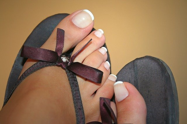 Pedicure feet