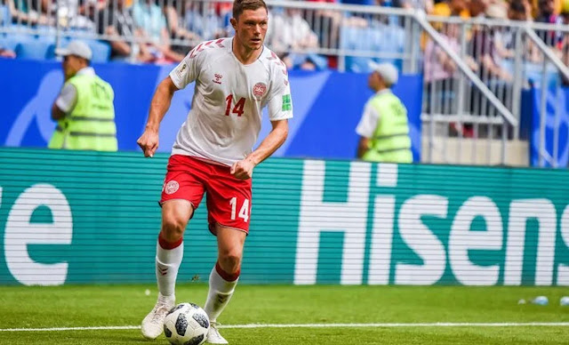 Czech Republic VS Denmark on KTN home euro 2020 games photo