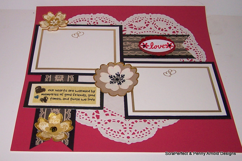 Titlelove Premade Wedding Scrapbook Layout With Scraperfect Scrap