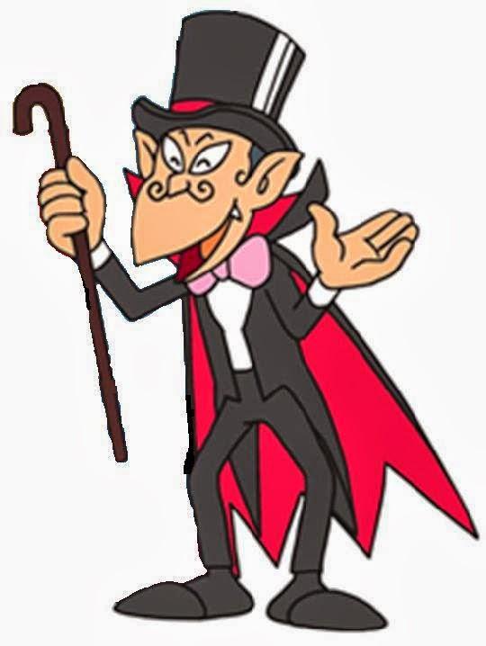 Carletto il principe dei mostri - Conte Dracula