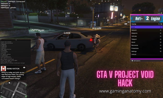 GTA 5 Hacks, Project Void, Teleport, Mod menu hack, Money, Updated
