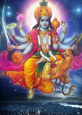 Hint mitolojisinde koruyucu tanrı.On avatarı vardır.