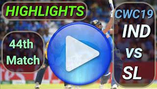 Ind vs SL 44th Match