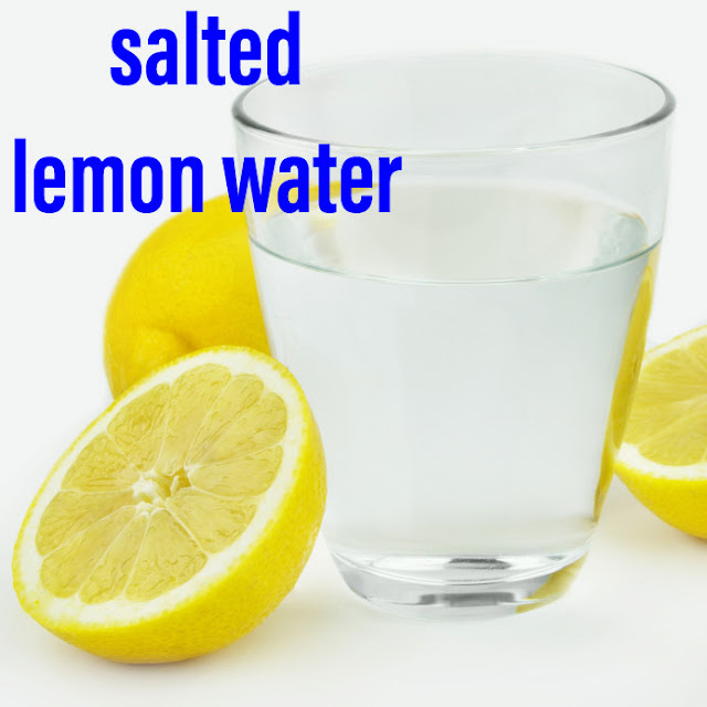 salted lemon water