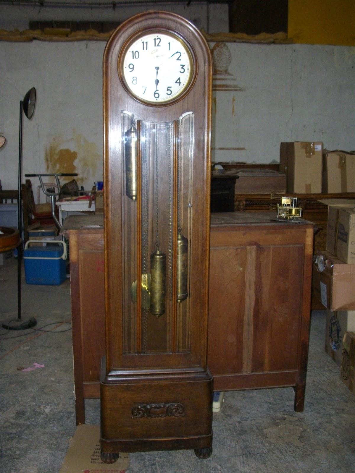 horloge de parquet pendule comtoise art nouveau. Black Bedroom Furniture Sets. Home Design Ideas