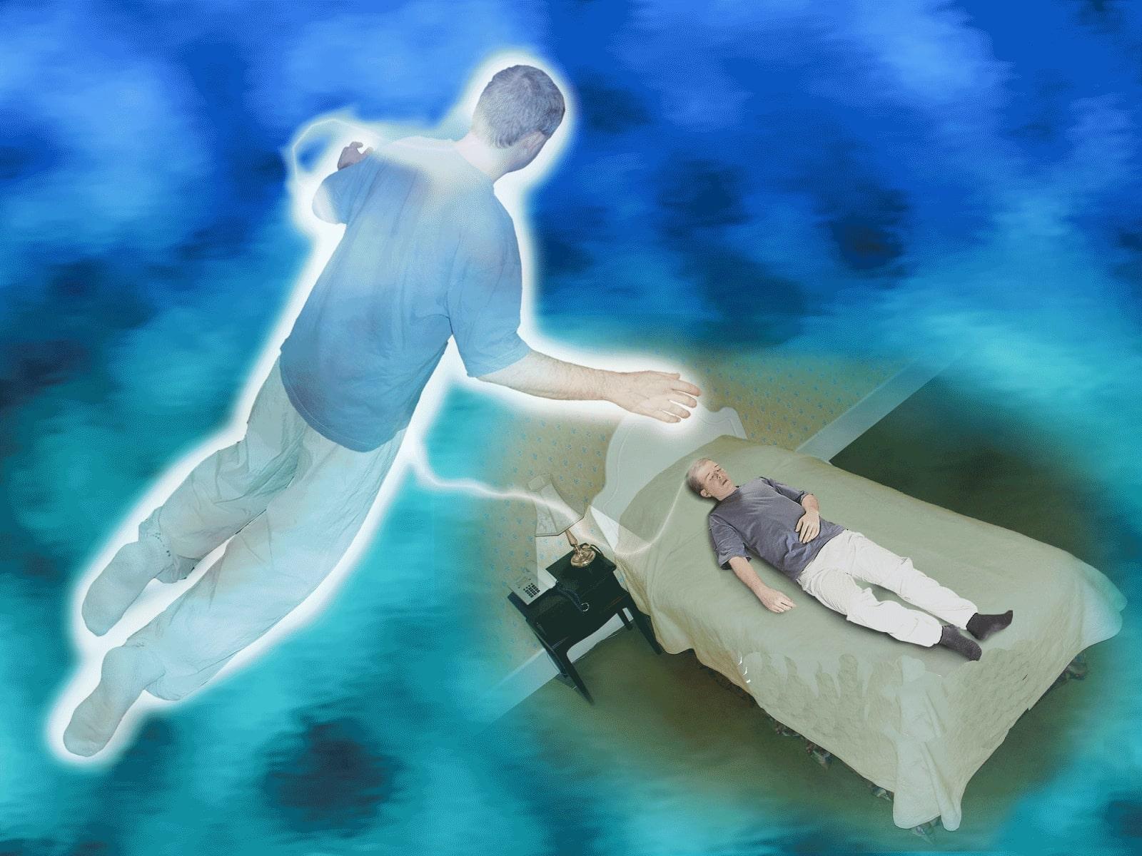 Médium é médium até quando dorme