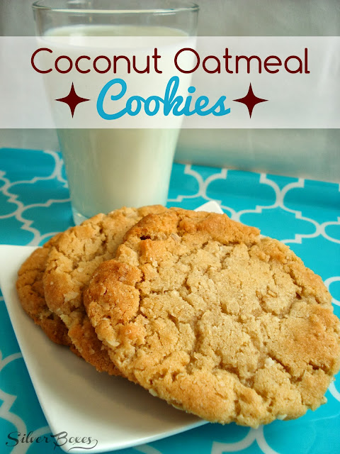 Silver Boxes: Coconut Oatmeal Cookies - A Great Lunchbox Treat!