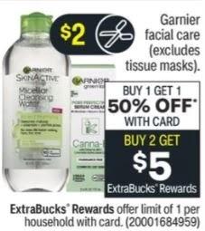 FREE Garnier Skincare CVS Deals 4/11-4/17