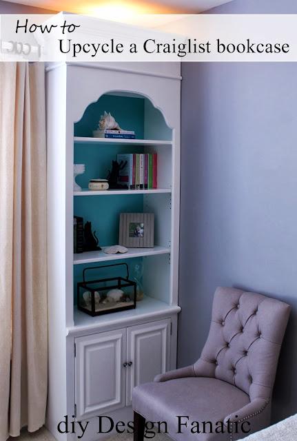 bookcases, diydesignfanatic.com, upcycle, cottage, craigslist