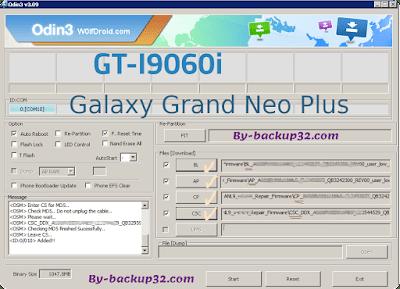 سوفت وير هاتف Galaxy Grand Neo Plus  موديل GT-I9060i روم الاصلاح 4 ملفات تحميل مباشر