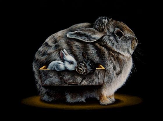Bizarre Animal Paintings-4