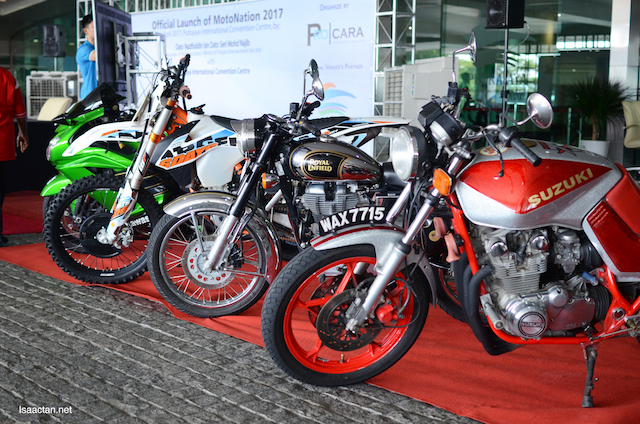 More bikes on display at the official launch event