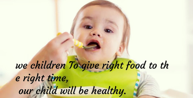 Diet Chart for Children: Children 6 to 10 years old