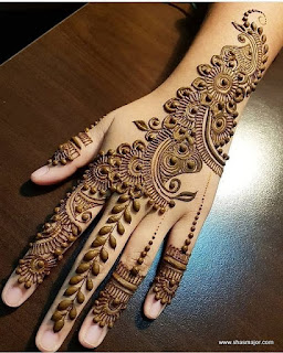 easy mehendi designs