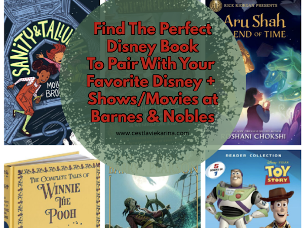 Find The Perfect Disney Book To Pair With Your Favorite Disney+ Shows/Movies At Barnes & Nobles