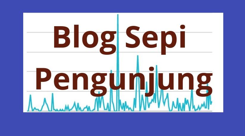 Penyebab Utama Blog Sepi Pengunjung