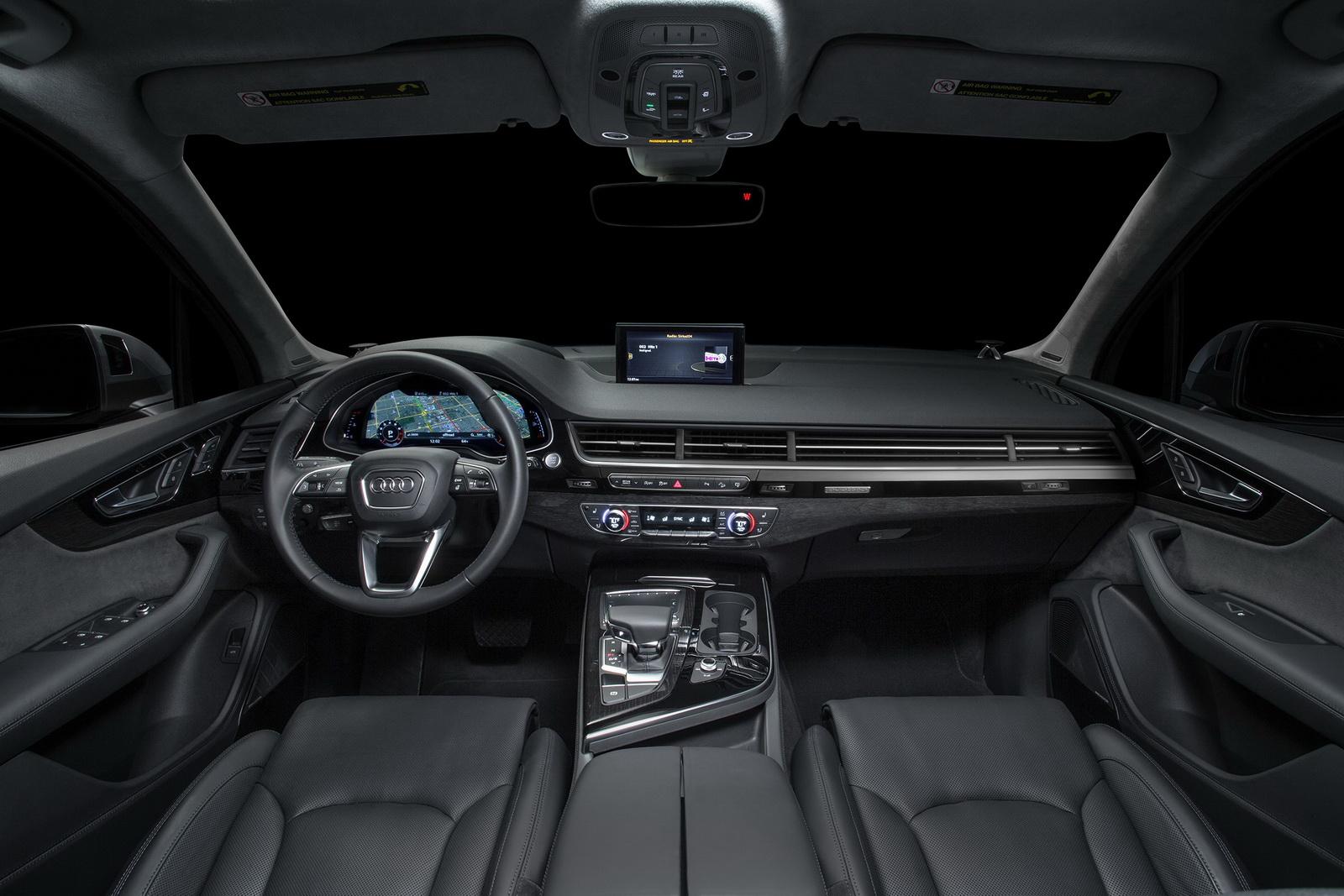 Audi Q7 2017 đạt tiêu chuẩn an toàn Top Safety Pick+ của IIHS