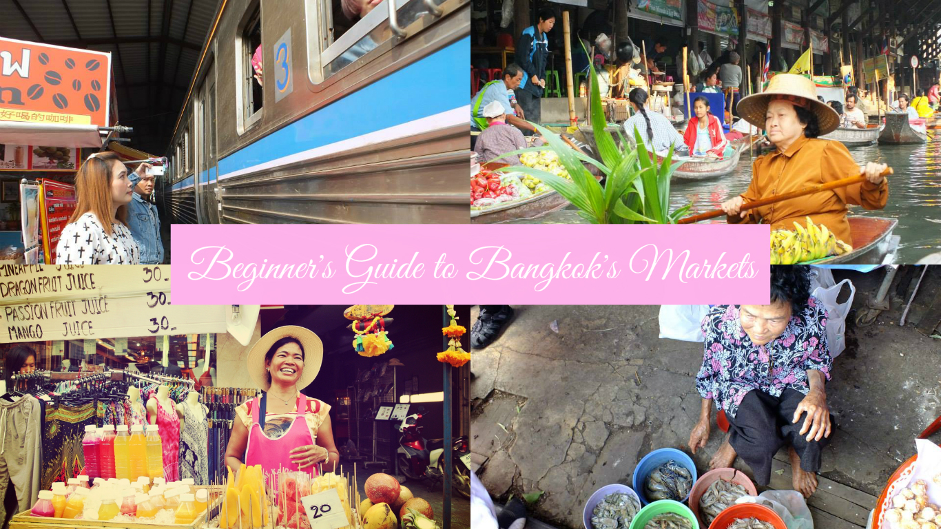 A beginners guide to Bangkok markets collage