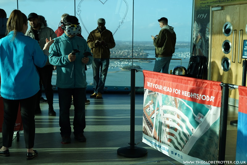 Altitude - a thrilling virtual reality experience on Spinnaker Tower