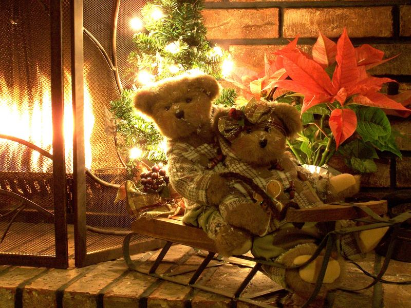 Christmas Teddy Bear Wallpaper: Teddy Bear HD Wallpapers