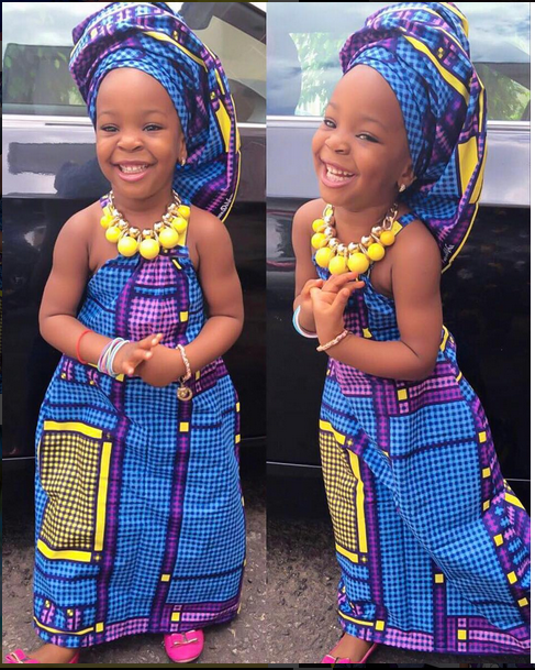 Photos From Pregnant Actress, Chacha Eke Faani's Daughter's 3rd Birthday Party