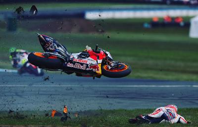 Akui Salah, Marquez Terangkan Penyebab Kecelakaan di GP Australia