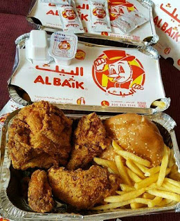 al baik fried chicken kuliner arab saudi favorit jamaah haji dan umroh nurul sufitri mom travel blogger lifestyle review makanan