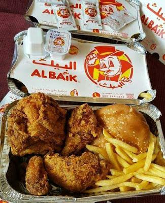 al baik fried chicken kuliner arab saudi favorit jamaah haji dan umroh nurul sufitri mom travel blogger lifestyle review makanan