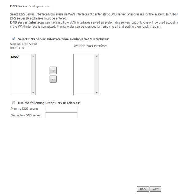 DSL Broadband Modem Configuration : Dlink 2730U/2750U with WiFi