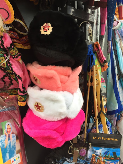 Russian ushanka hats