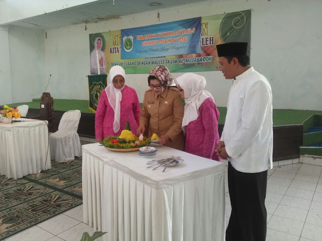 Bupati Subang Buka Pelatihan DAI dalam Rangka Milangkala Pasundan Istri ke-9.