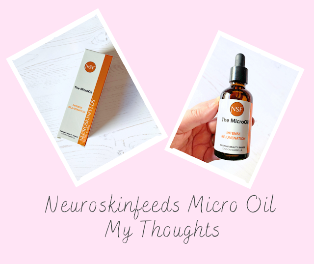 The Neuroskinfeeds Micro Oil - My Thoughts