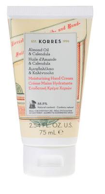 Crema de manos con aceite de almendras y caléndula Korres
