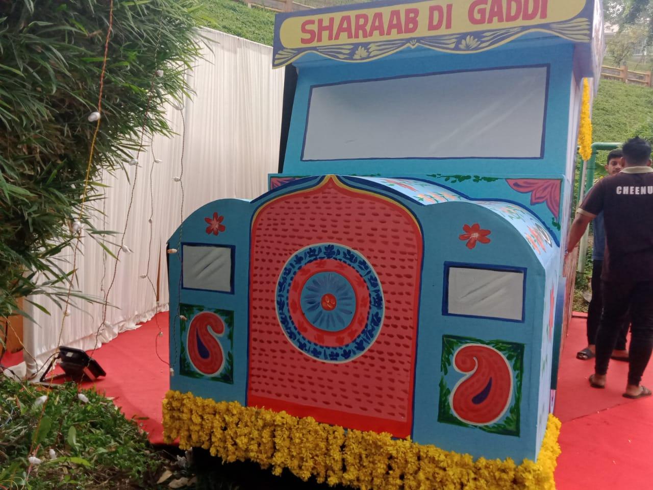 Bollywood Punjabi Truck Wedding Theme India