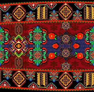 Abstract-saree-border-textile-print