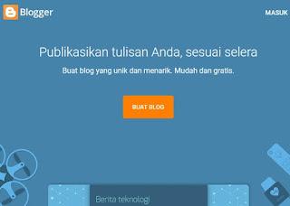 Gagal login akun blog