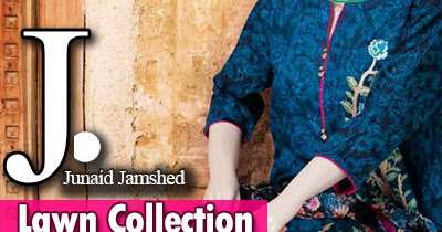Junaid Jamshed Lawn 2017 Vol-1 | Mera Andaaz by J. Collection