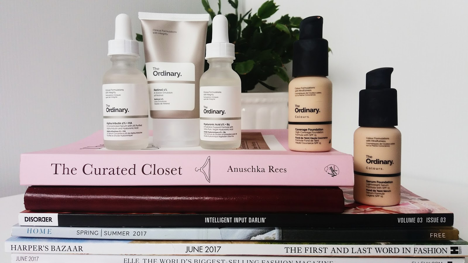 The Ordinary Retinol 1%, Hyaluronic Acid, Alpha Arbutin, Coverage and Serum Foundations Review