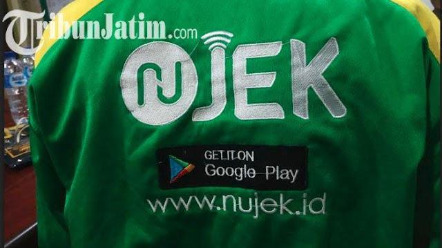 NUJEK - Aplikasi Ojek Online Karya Warga NU yang Siap 'Saingi' Go-Jek dan Grab