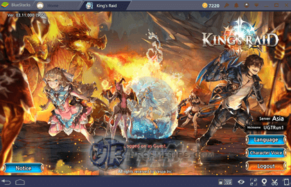 How To Play King's Raid on Bluestacks