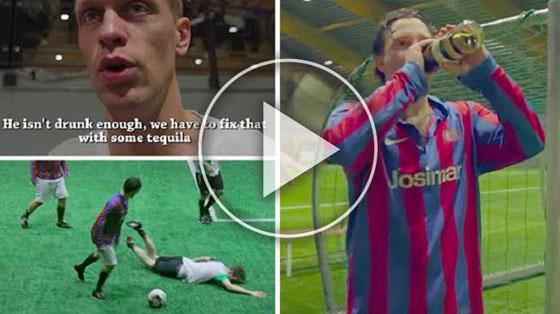 Video Pesepak Bola Norwegia Mabuk Saat Berlaga Yang Jadi Viral